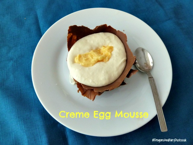 Creme Egg Inspired Mousse