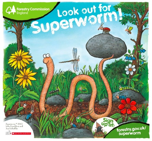 Superworm Forestry commission trails