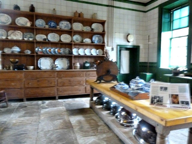 Wallington hall kitchen