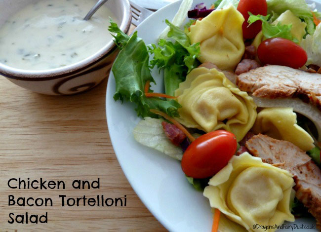 Chicken and Bacon Tortelloni Salad