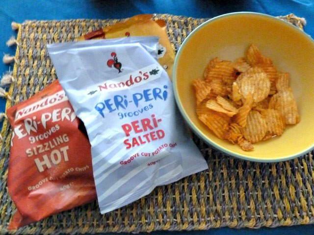 Nandos crisps