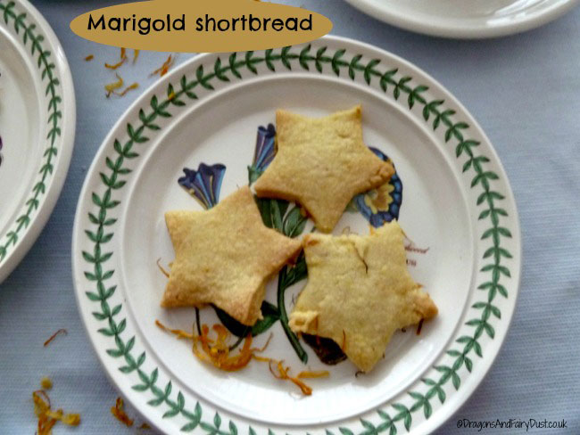 Marigold shortbread