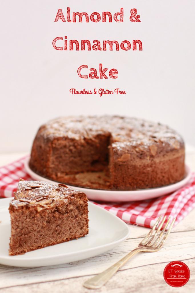 Almond and cinnamon cake