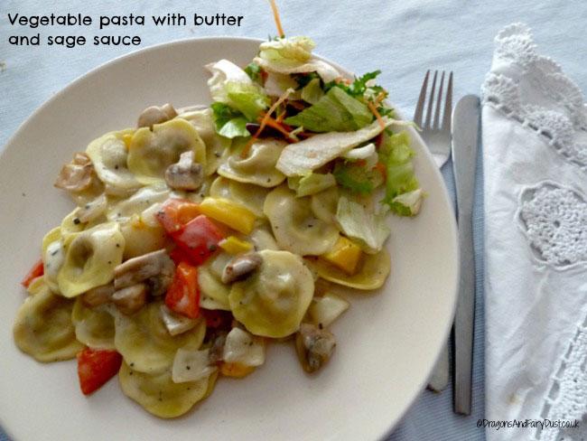 Vegeable pasta