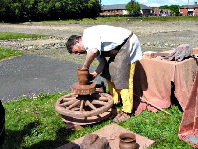 Segedunum pottery