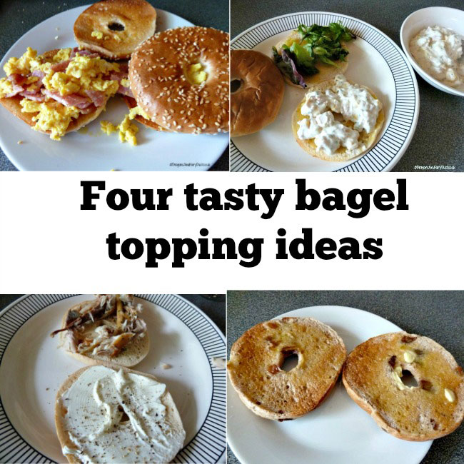 Four tasty bagel topping ideas