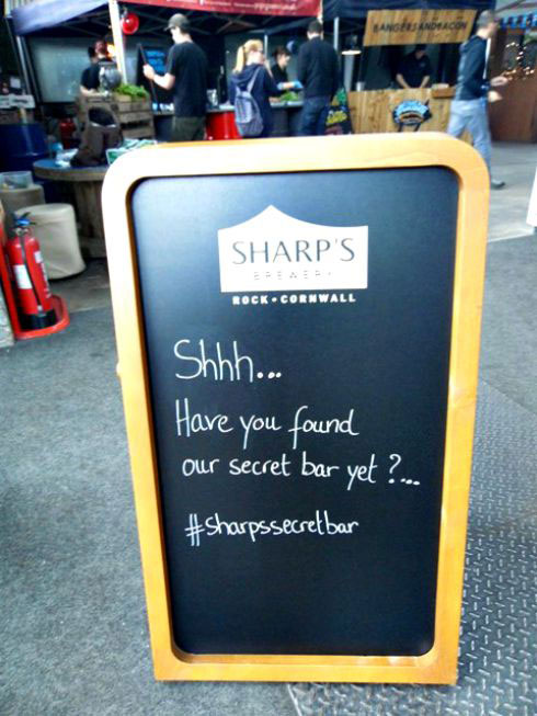 Sharps Secret Bar