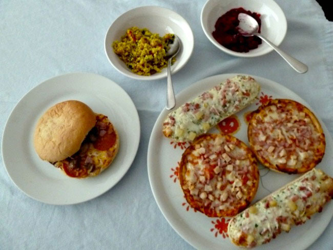 Chicago town pizzas