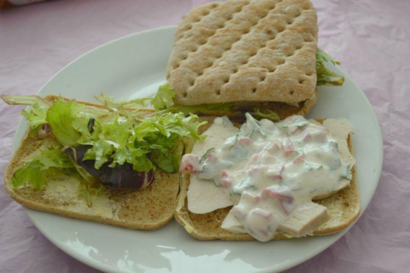 Thai chicken Sandwich