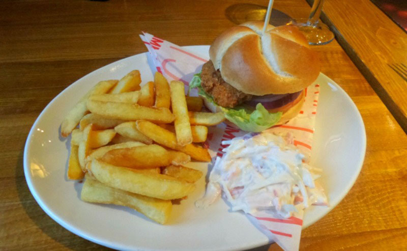 Brewers Fayre Autumn meny