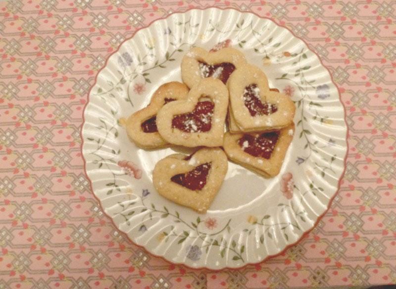 Queen of hearts tarts