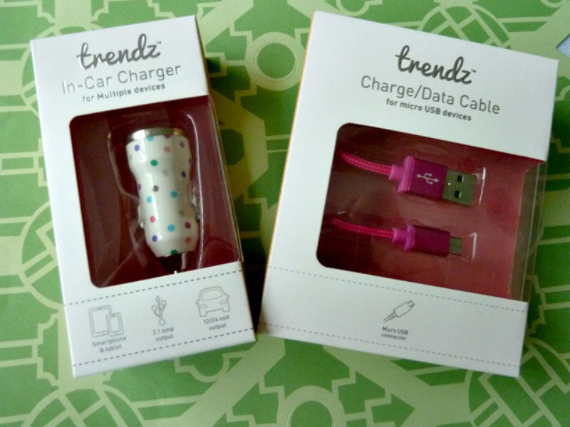 Trendz Phone Charger and USB cable