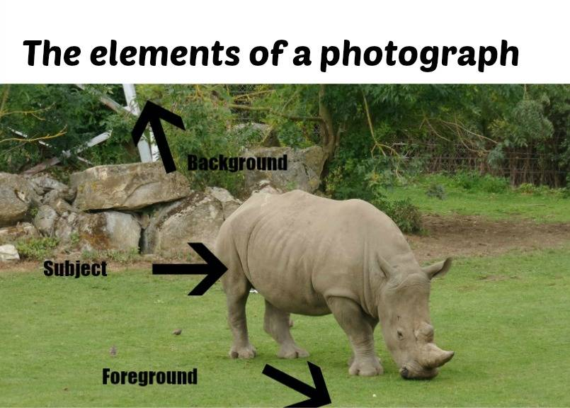 The elements of a photograph
