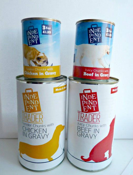Costcutter wet dog food