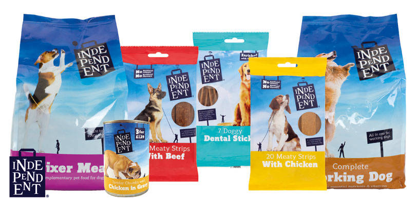 Pet food range from costcutter