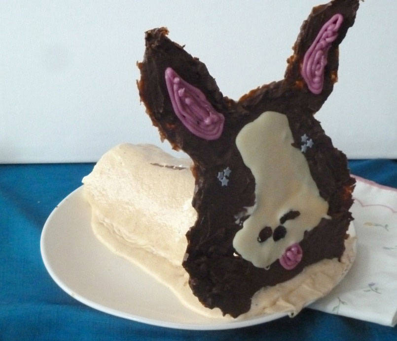 Candy the corgi cake
