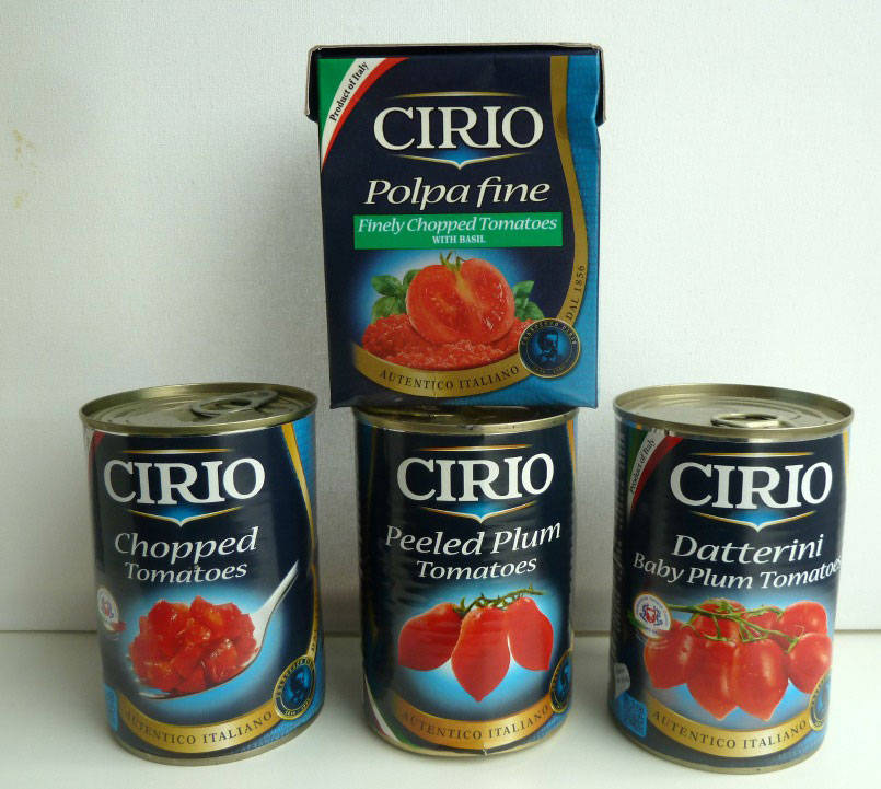 Cirio tomatoes