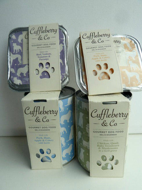 Cuffleberry & Co dog food