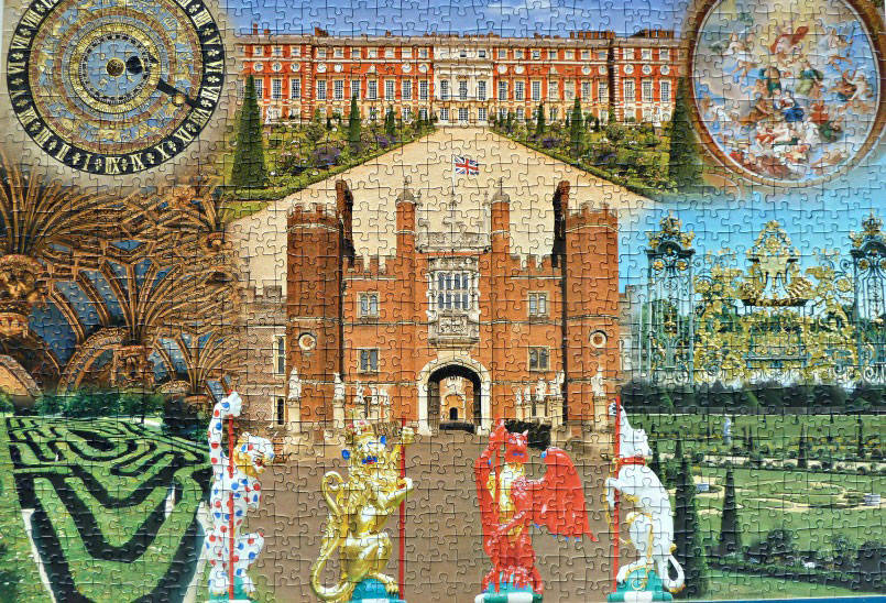 Ravensbuger Historic Royal Palaces - Hampton Court Palace jigsaw