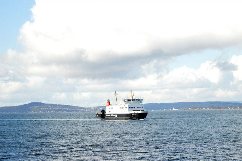 Ferry to Bute from Wemyss Bay