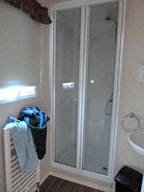 Bathroom in Macdonald caravan wemyss bay