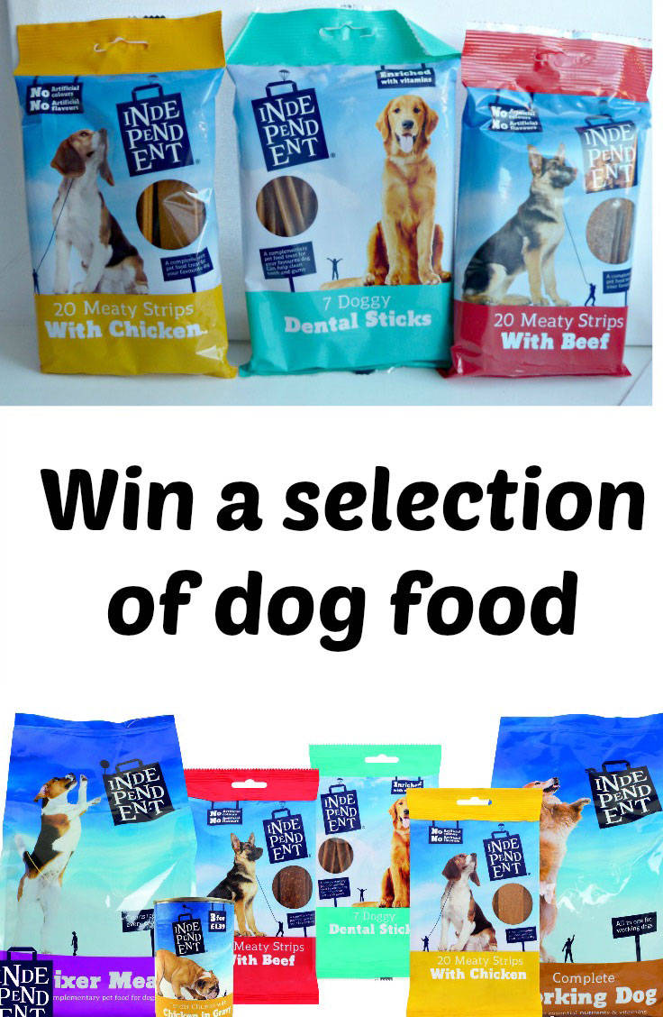 Win a selection of dog food