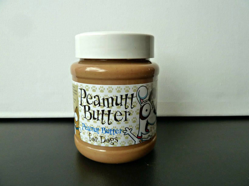 Peanut Butter Jar Dog Toy