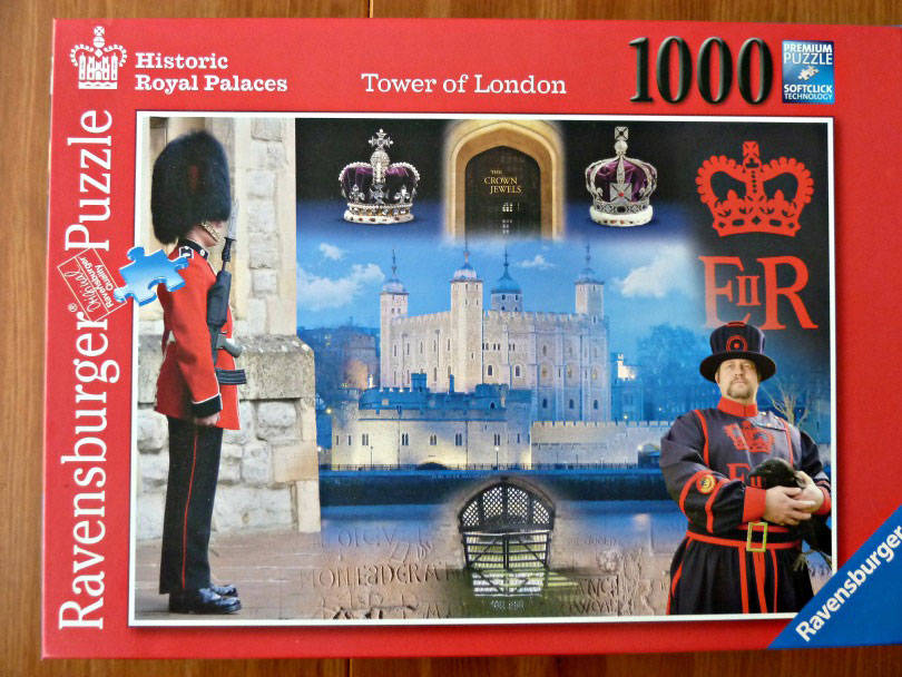 Tower of London 1000 piece puzzle from ravensburger