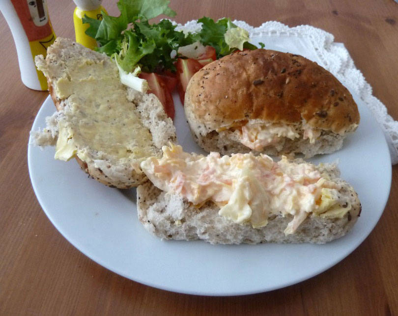 Regional Recipes: Cheese Savoury Sandwiches