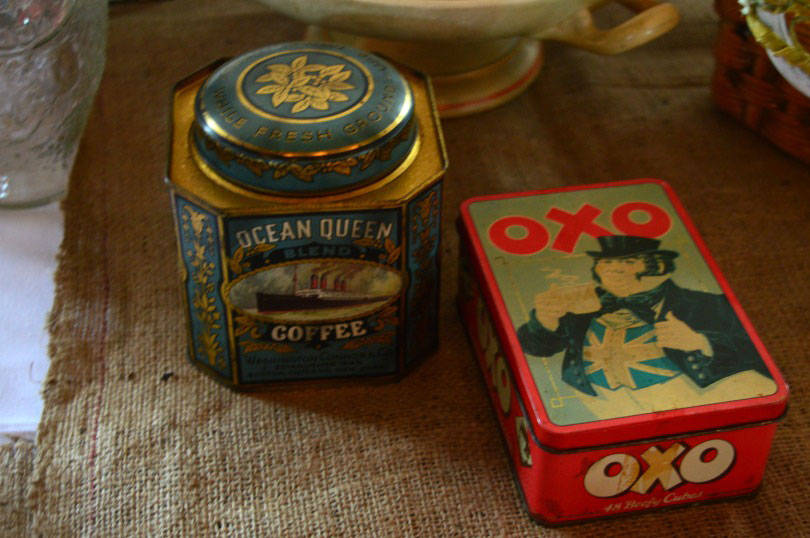 Tins at the Clayshed vintage festival in Newcastle