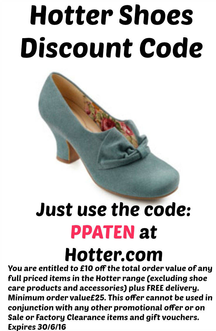 Hotter Shoes Discount code