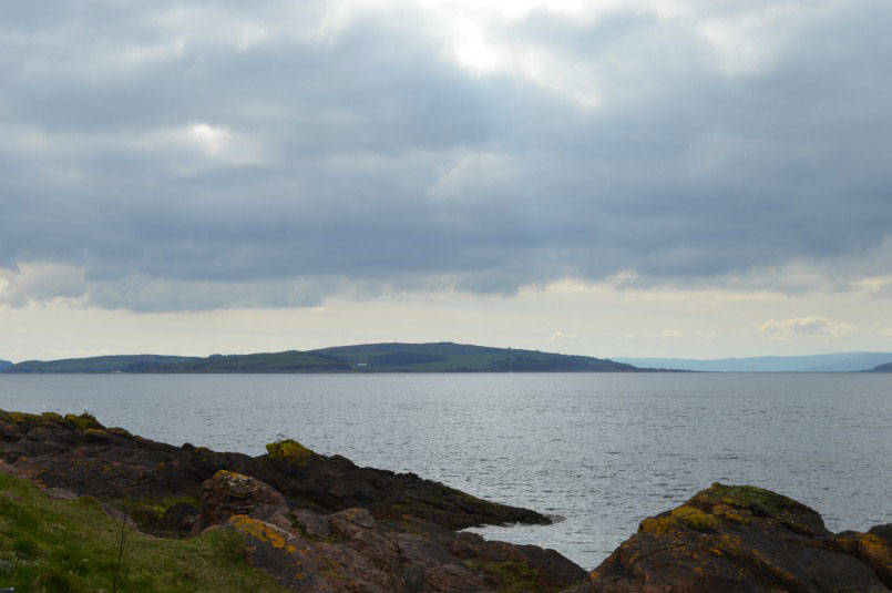 View across coast at Largs