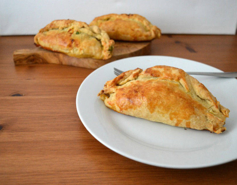 Spiced lamb pasties by John Waite
