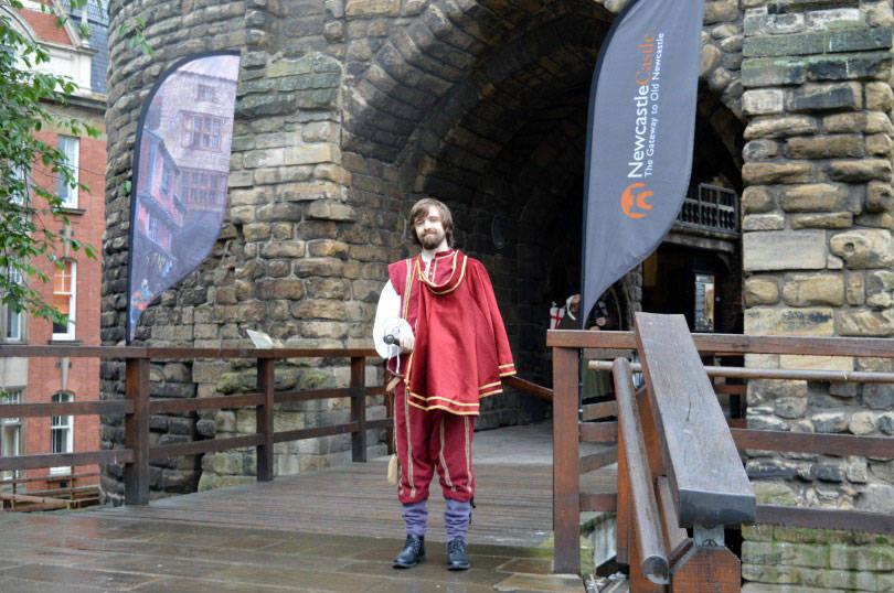 Medeval Mischief at Newcastle Castle