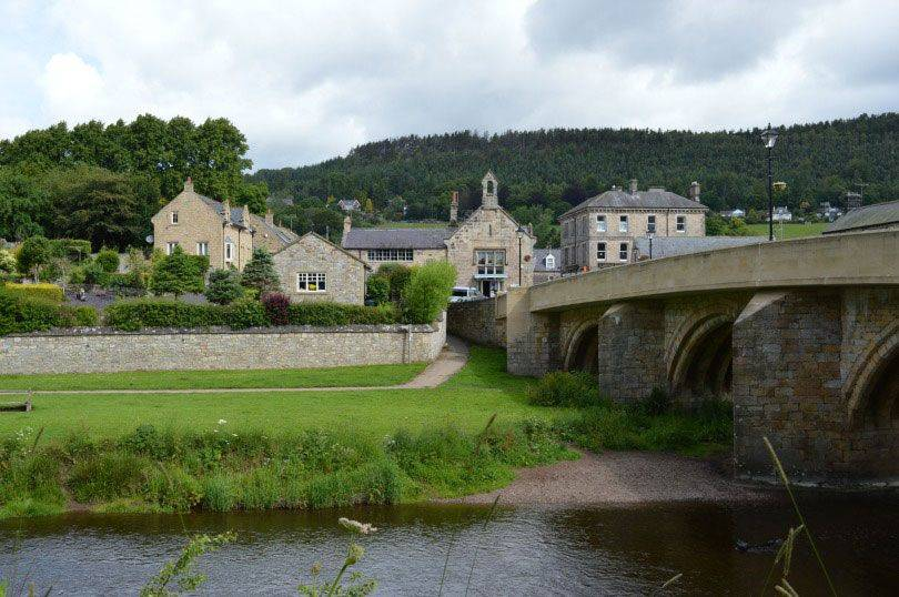 Rothbury village
