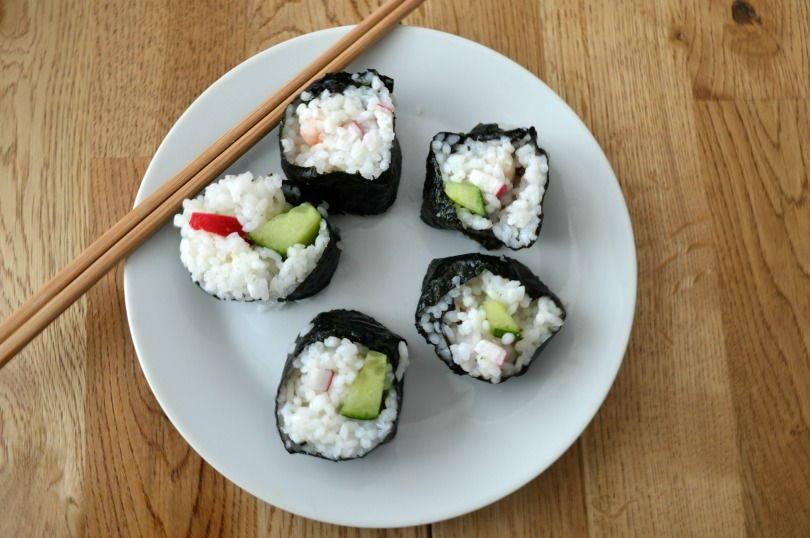 Making Sushi with Yutaka