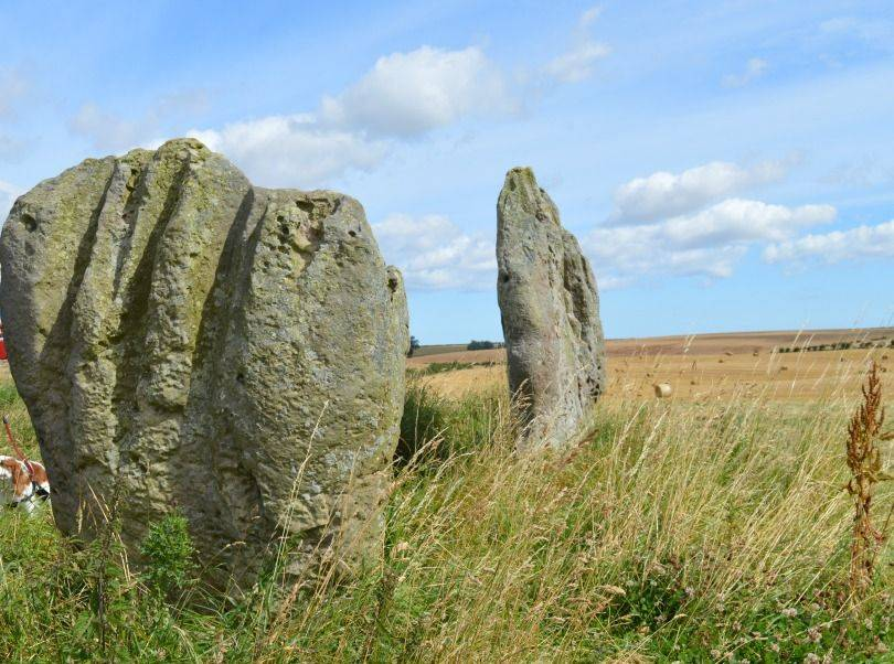 Standing stones at Duddo