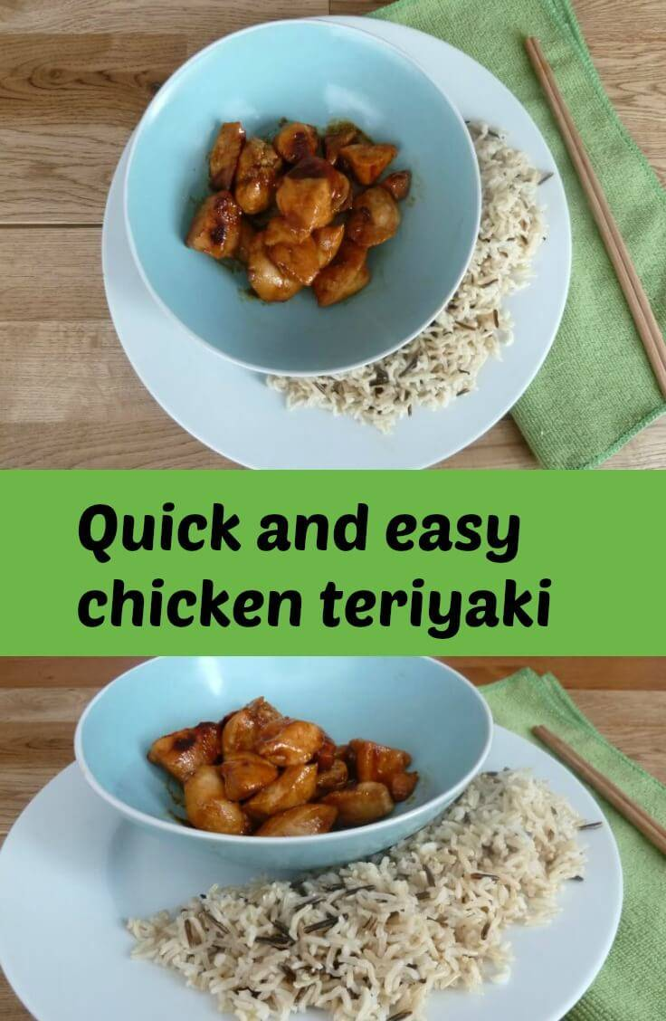 Quick and easy teriyaki chicken - Dragons and Fairy Dust