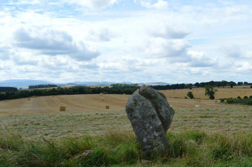 Standing stones at Duddo