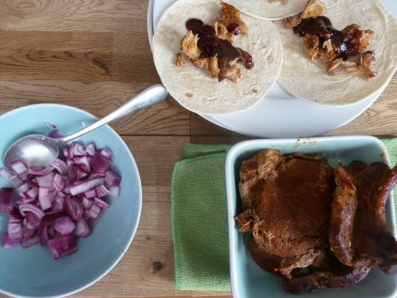 Santa Maria Pulled pork dinner kit
