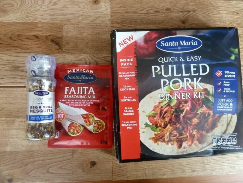 Santa Maria pulled pork kit