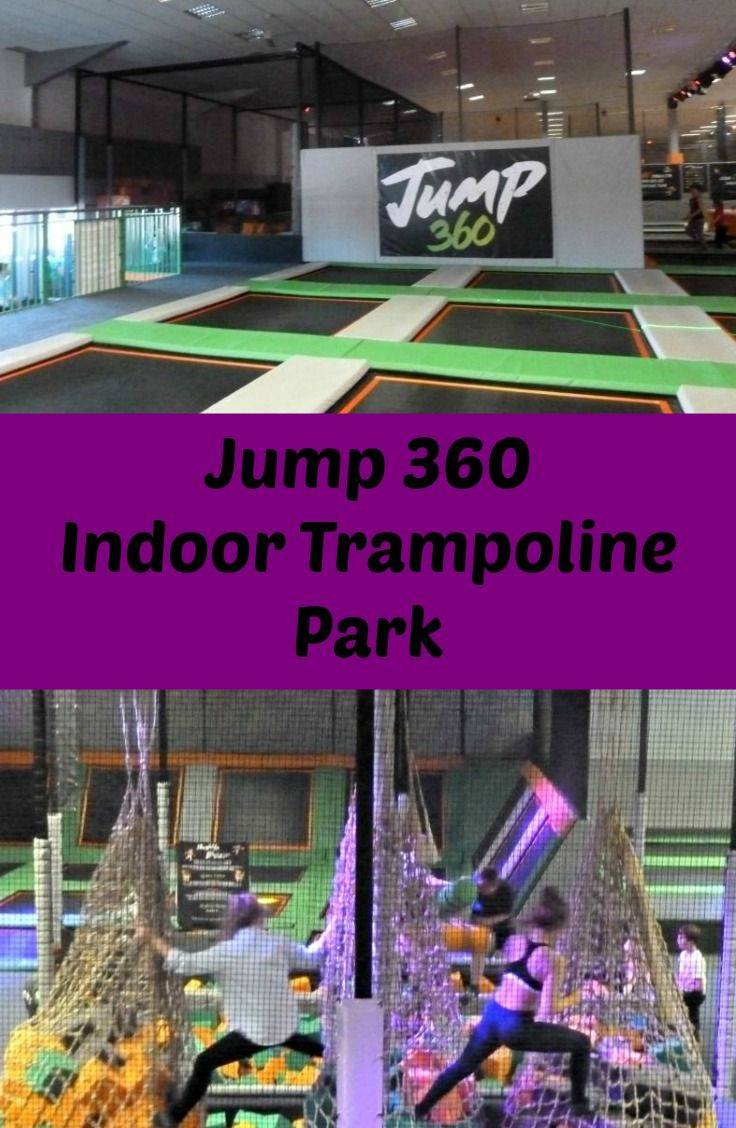 Jump 360, An indoor trampoline park at Stockton in North East England