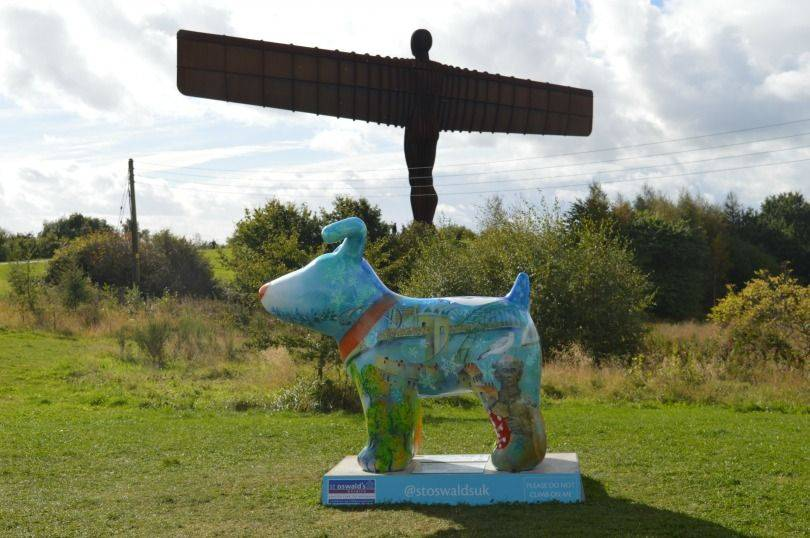 The dog on the tyne great north snowdog