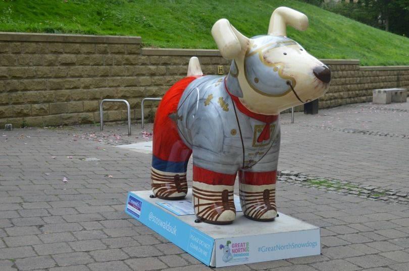 Hadrian's hound great north snow dog