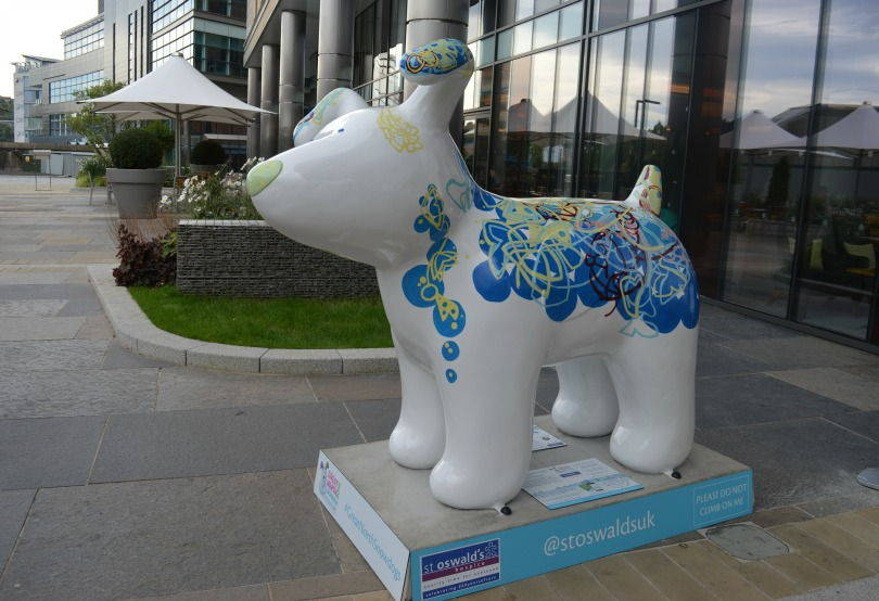 Fear of Emptiness snowdog on the Great North Snowdog trail