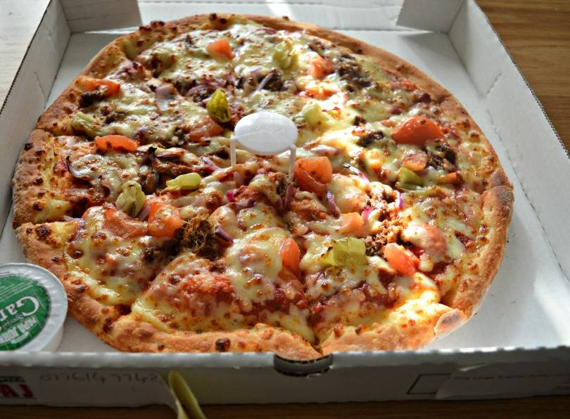 Papa John's Arabian pulled lamb pizza