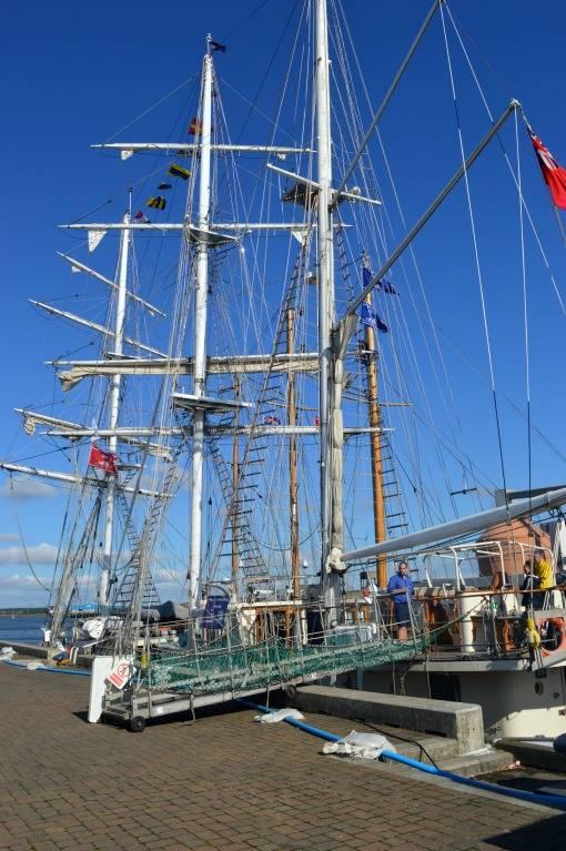 Tall ships at Blyth 2016