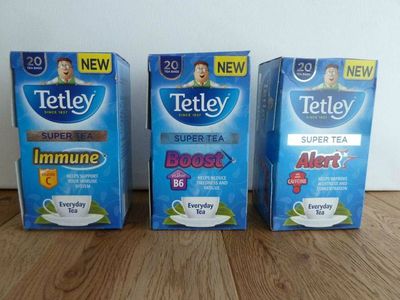 Tetley super tea