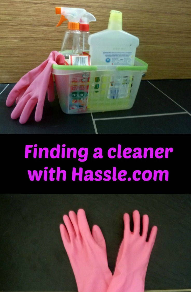 Finding a cleaner using Hassle.com who have just launched in Newcastle