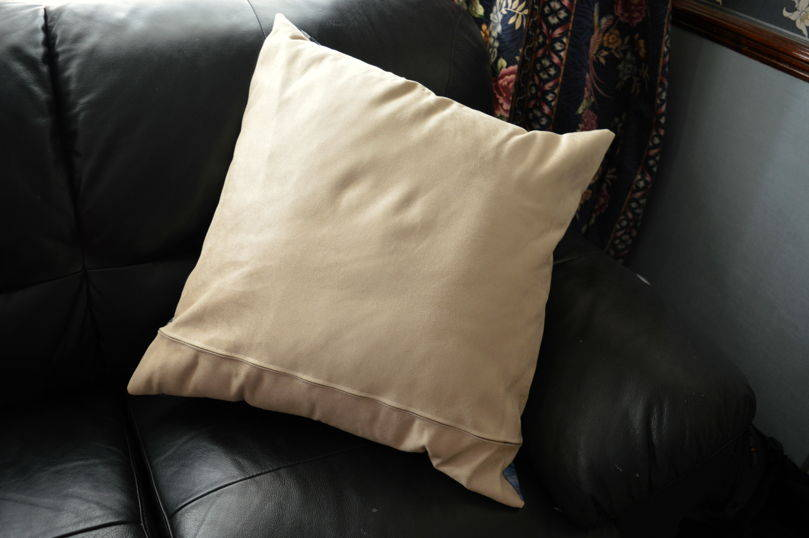 Back of the cushion